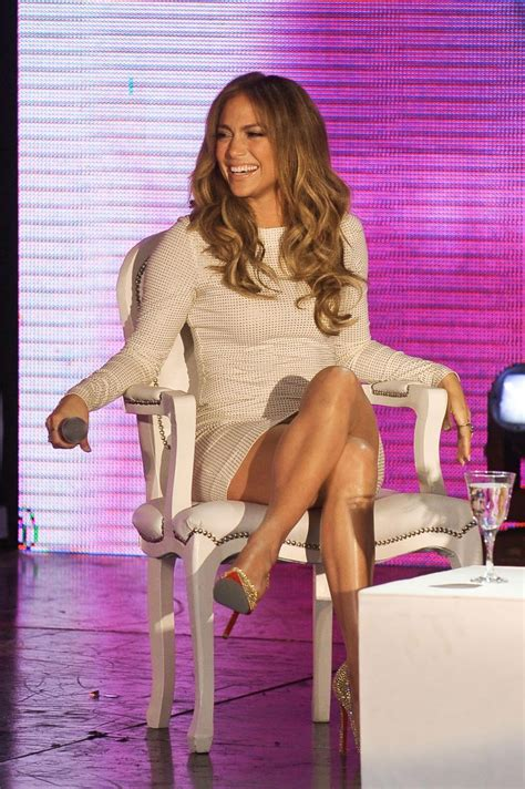 Jennifer Lopez Super Sexy Ass and Legs Show At The