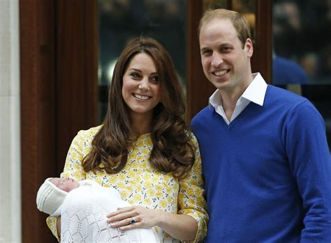 Kate Middleton, Prince William emerge with royal baby girl