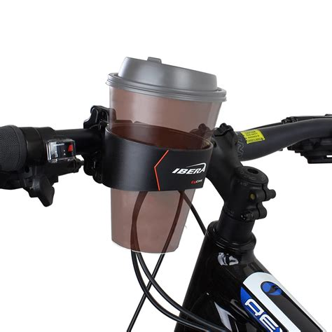 Container and Bottle Holder for the Morning Coffee - Bike