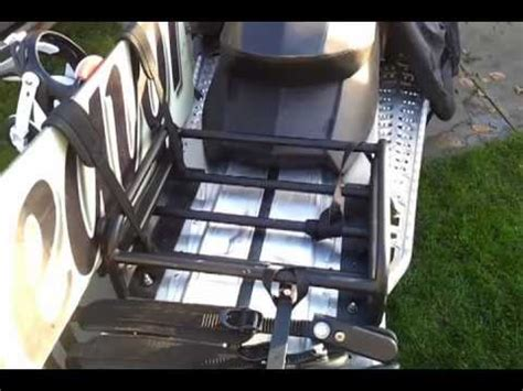 Snowmobile Racks for Snowboards, Skis and Gas Cans -- PTR