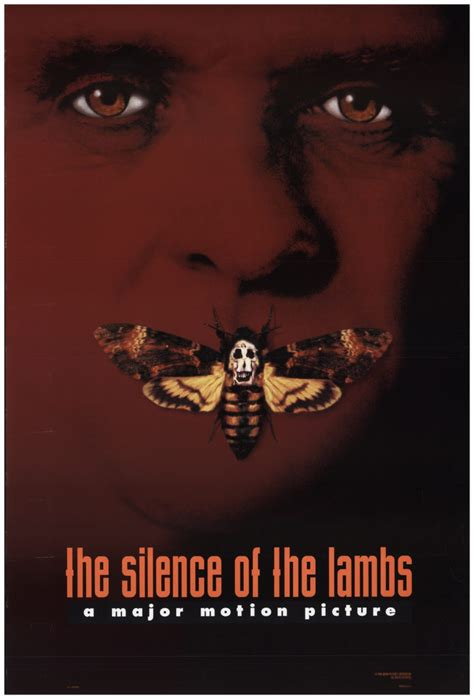 Silence of the Lambs, The 1990 Original Movie Poster #FFF