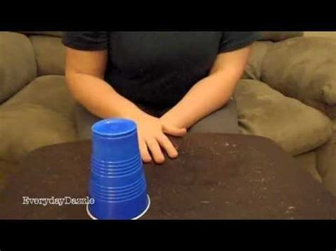 How To Do The Cup Song From Pitch Perfect - YouTube