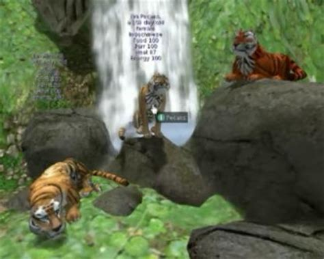 Play free WTTJ Tigers Second Life Online games