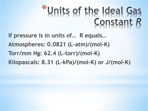 PPT - Chemistry Gases Dalton's Law of Partial Pressures