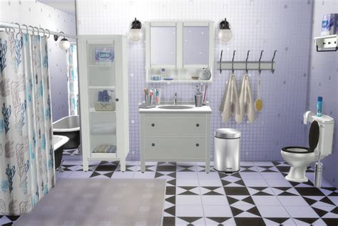 My Sims 4 Blog: IKEA Bathroom Set and Clutter by Natatanec
