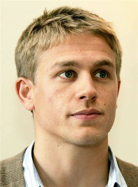 Charlie Hunnam, must be without a beard