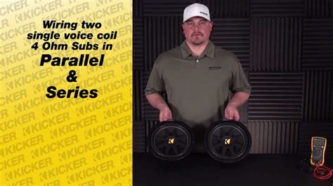 Subwoofer Wiring: Wiring 2 SVC subs in Series and in