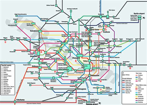 Guide to take trains in Tokyo