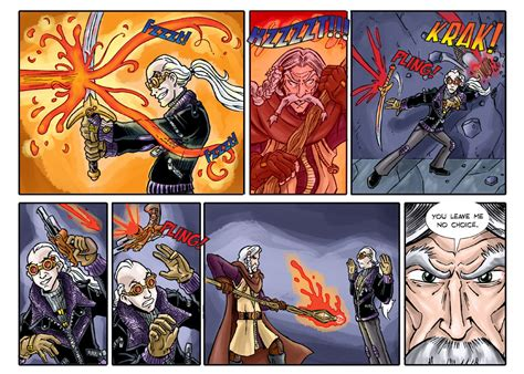 #109 | Chapter 4, Page 17 | Shadowbinders - a Steampunk