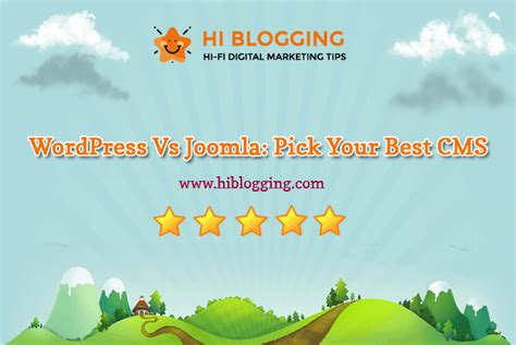 WordPress Vs Joomla: Which is the suitable CMS for you