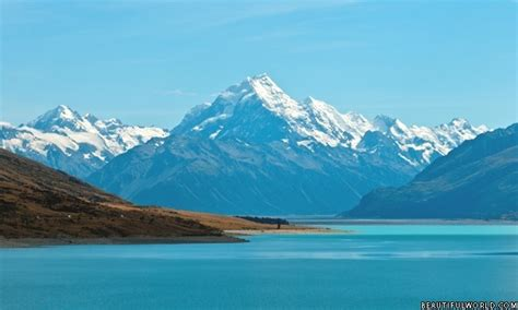Mount Cook Facts & Information - Beautiful World Travel Guide