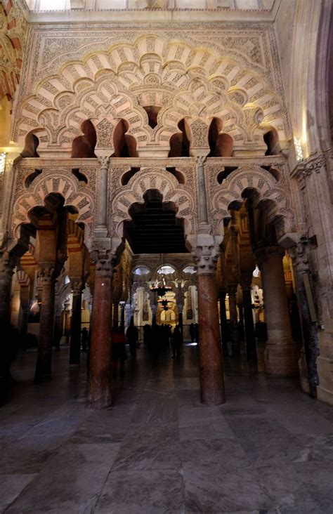 Cathedral-Mosque of Cordoba And the 9th century Mihrab Tha