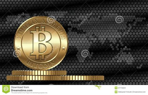Vector Bitcoin Concept Stock Images - Image: 37772224