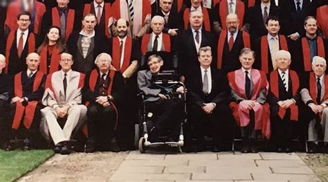 VIDEO: Professor Stephen Hawking gets a moving tribute