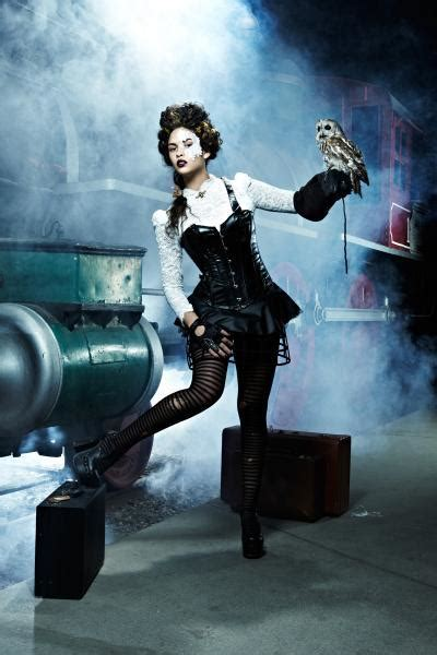 Fashion and Action: America's Next Top Steampunk Model