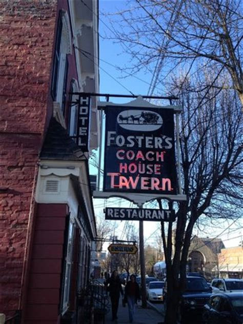 Foster's Coach House, Rhinebeck - Menu, Prices