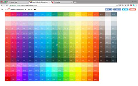 [UPDATED] Quickly Creating Material Design Colours in