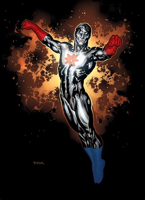 Whats the difference between Captain Atom and Firestorm