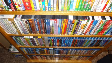 My Entire Movie Collection - Blu-Ray, DVD, VHS, etc