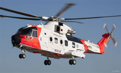 First AW101 Delivered to Norway