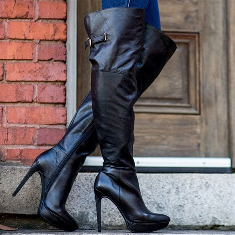 Lindsay Lohan Channels Cat Woman in Sexy Thigh-High Boots