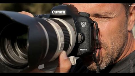 Exclusive: Canon EOS 7D Mark II DSLR - first test - YouTube