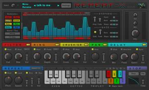 Repeat-X Multi-Effect VST Plugin by Z3 Audiolabs