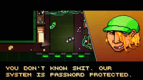 Hotline Miami - All Puzzle Pieces Password Ending - YouTube