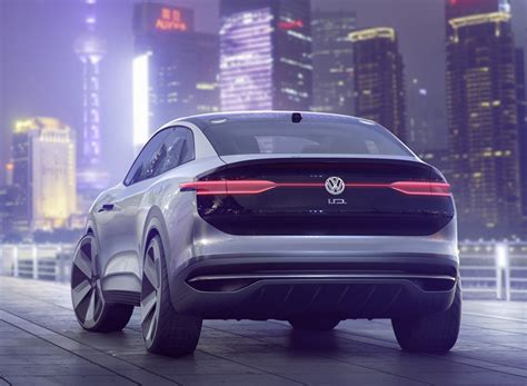 the volkswagen ID CROZZ concept is a self driving electric SUV