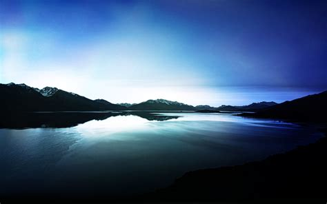 Dark Lake View Reflections Wallpapers | HD Wallpapers | ID