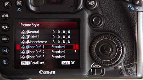 How to Setup your DSLR to Film (Picture Style) - YouTube