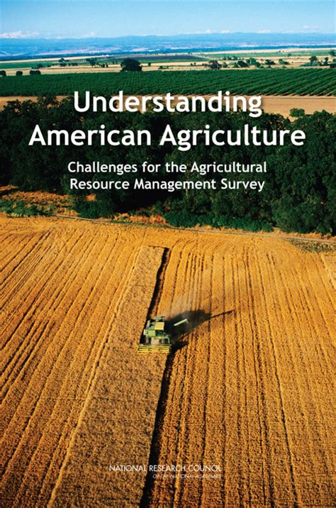 Understanding American Agriculture: Challenges for the